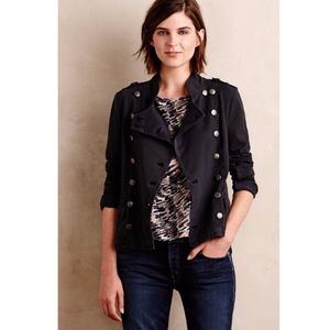 NWT Anthropologie Knit Field Military Jacket